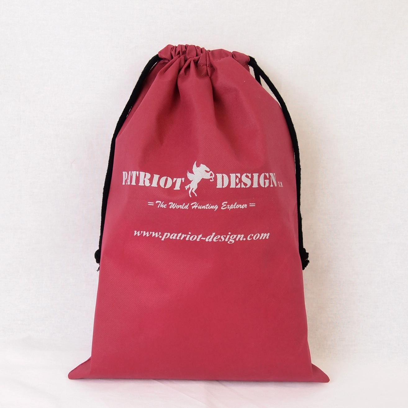 デンタルクリニックさまご制作 巾着タイプの不織布バッグ