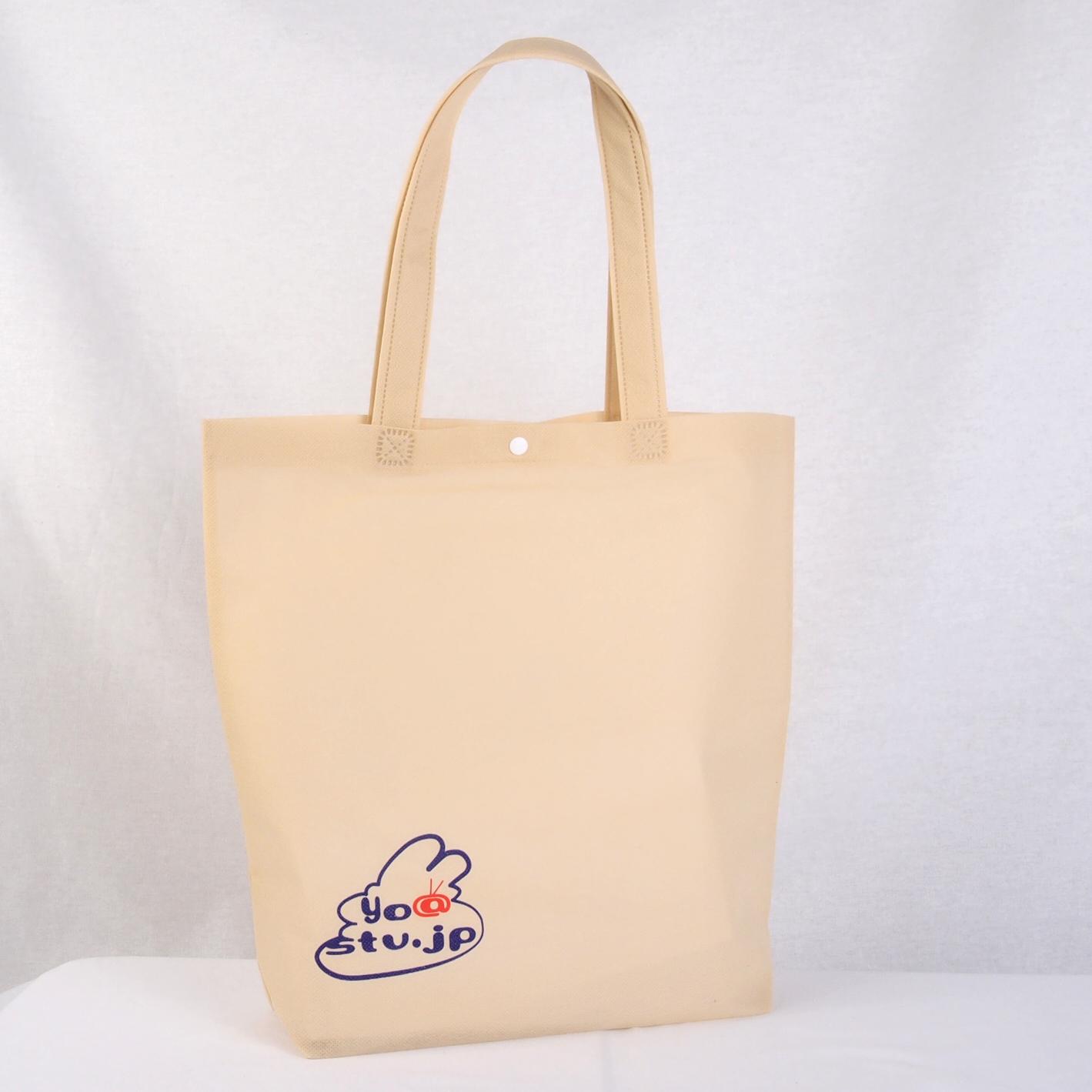 札幌のラジオ局のオリジナル不織布バッグ