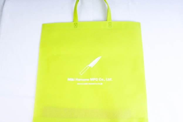 刃物を製作している企業様のオリジナル不織布バッグ