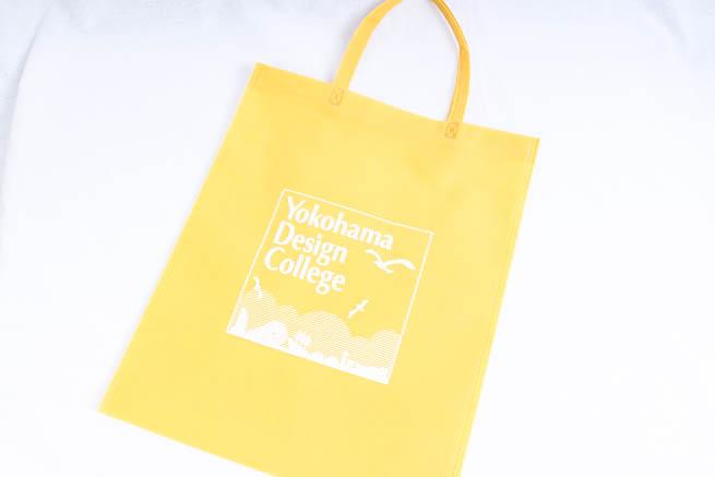 デザイン学校のオリジナル不織布バッグ