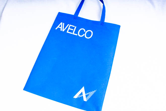 住宅建材の卸売や施工をされている企業様のオリジナル不織布バッグ