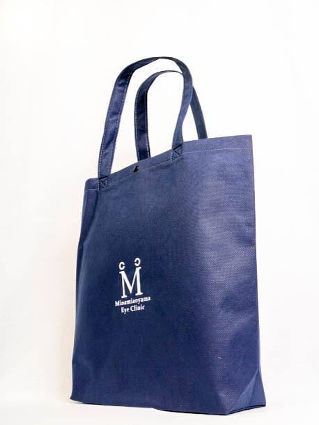クリニックで使用する不織布バッグ