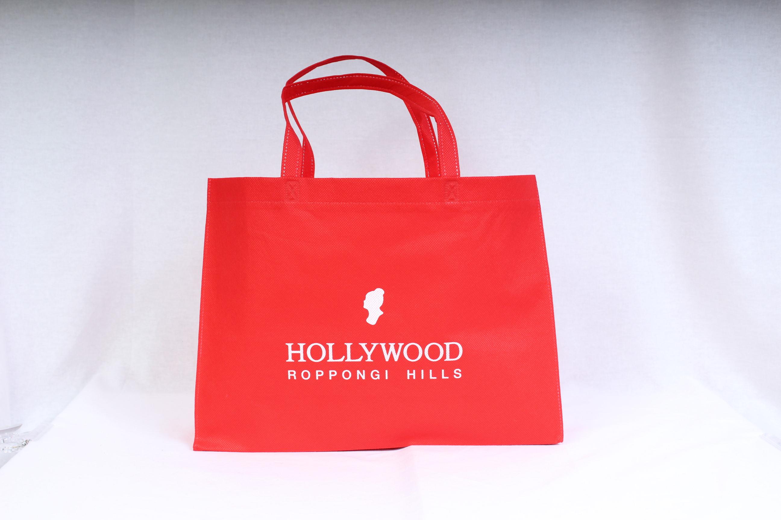 全国各地で化粧品販売を行っておられるお客様のオリジナル不織布バッグ