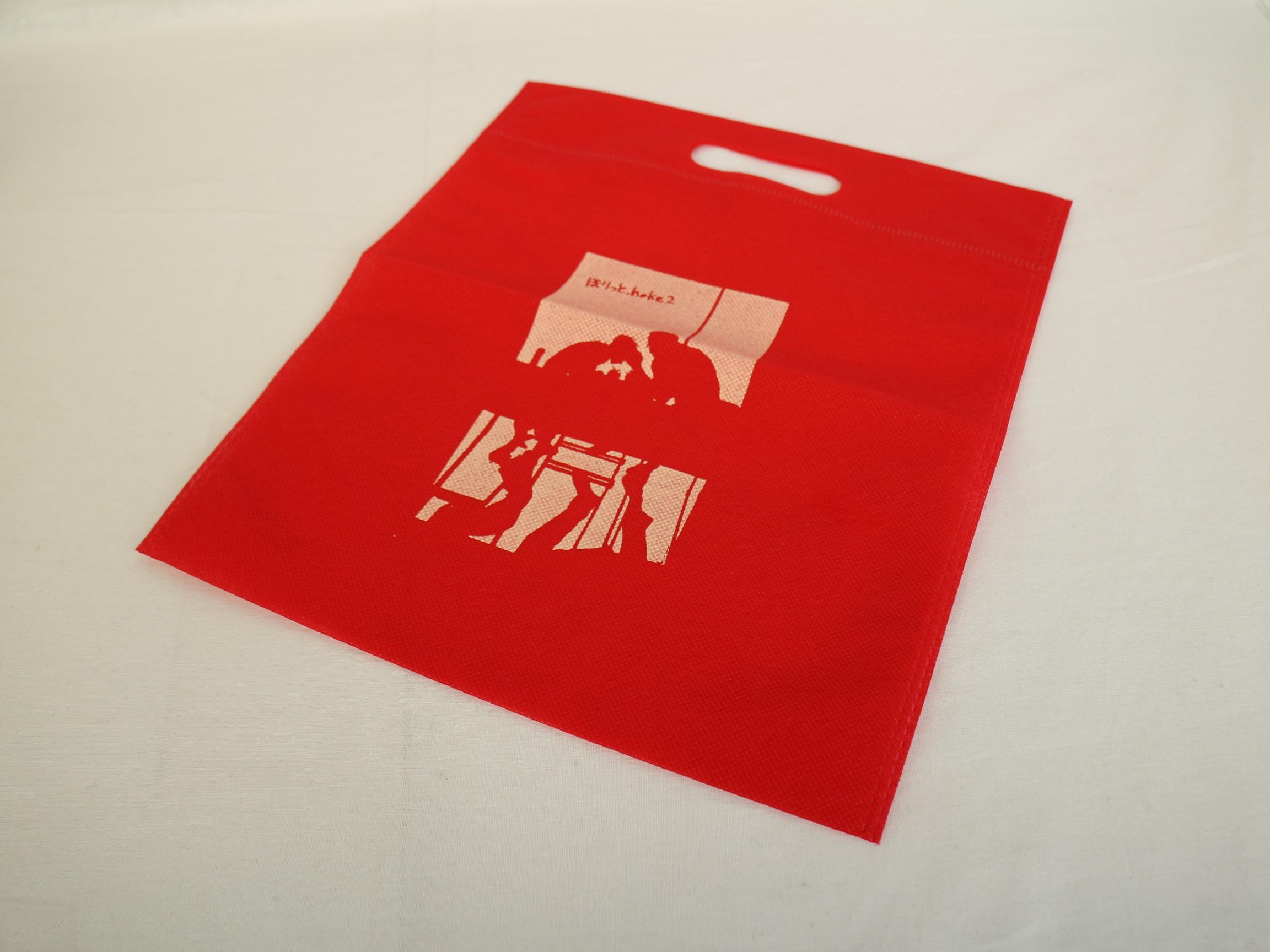 同人イベントでご利用いただくオリジナル不織布バッグ