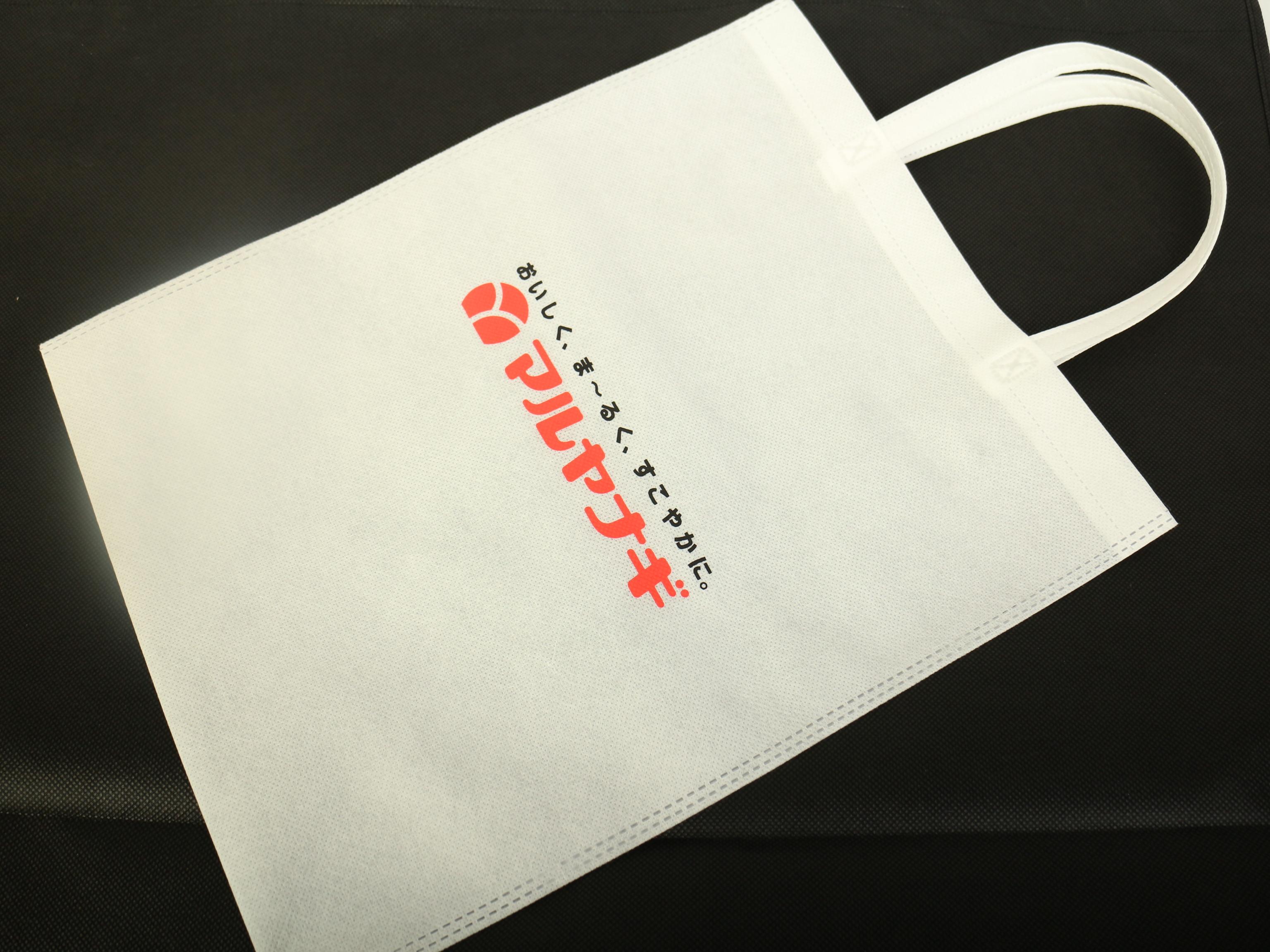 佃煮・煮豆・総菜の製造卸販売をしていらっしゃいます企業様のオリジナル不織布バッグ