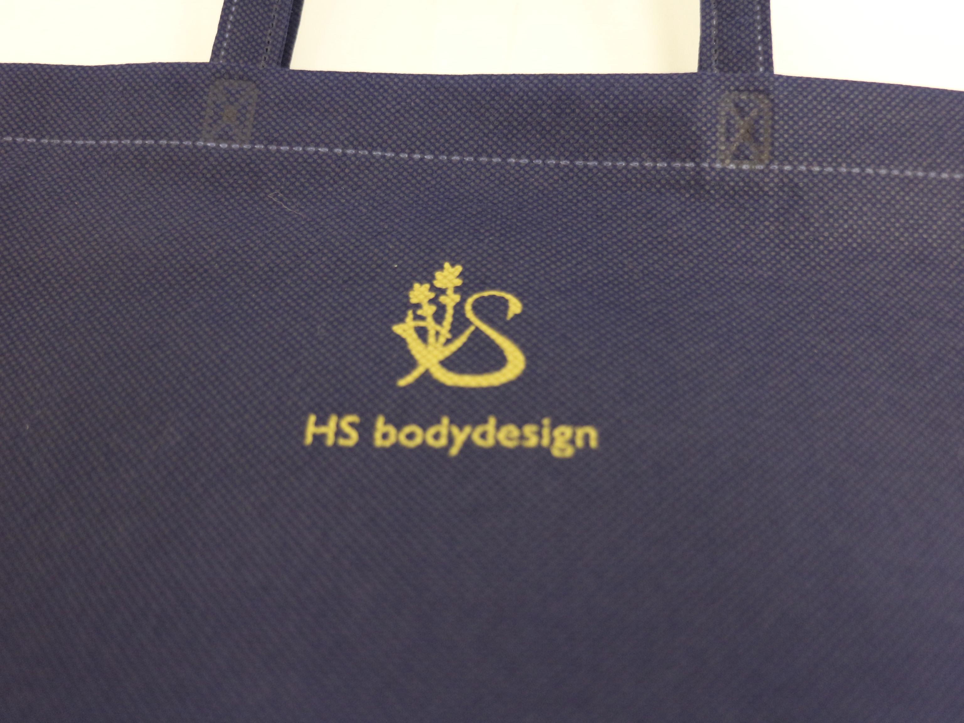エステサロンでノベルティとしてご利用の不織布バッグ