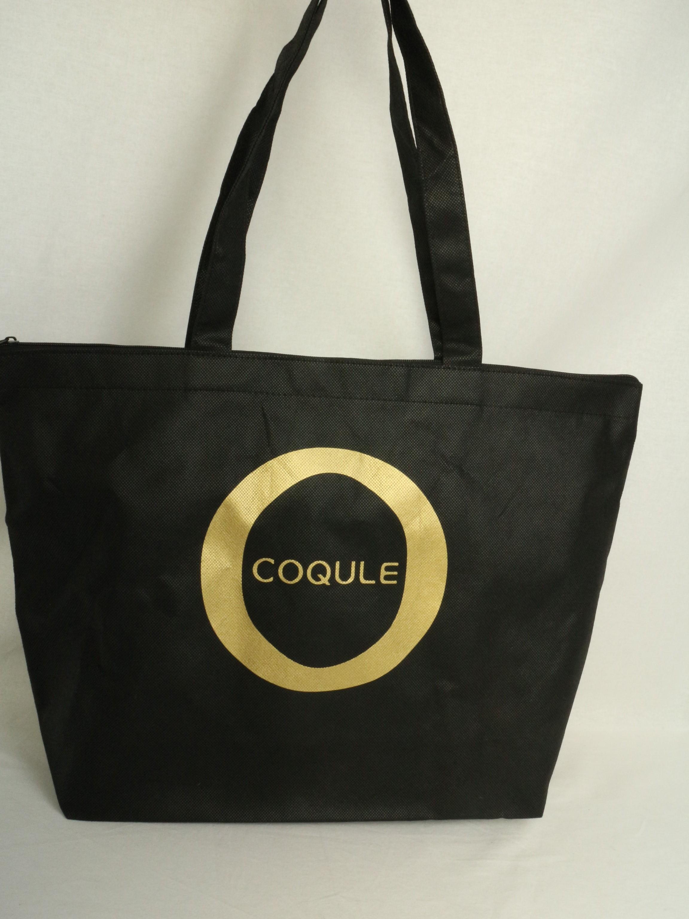 アパレルの福袋でご利用いただく不織布バッグ