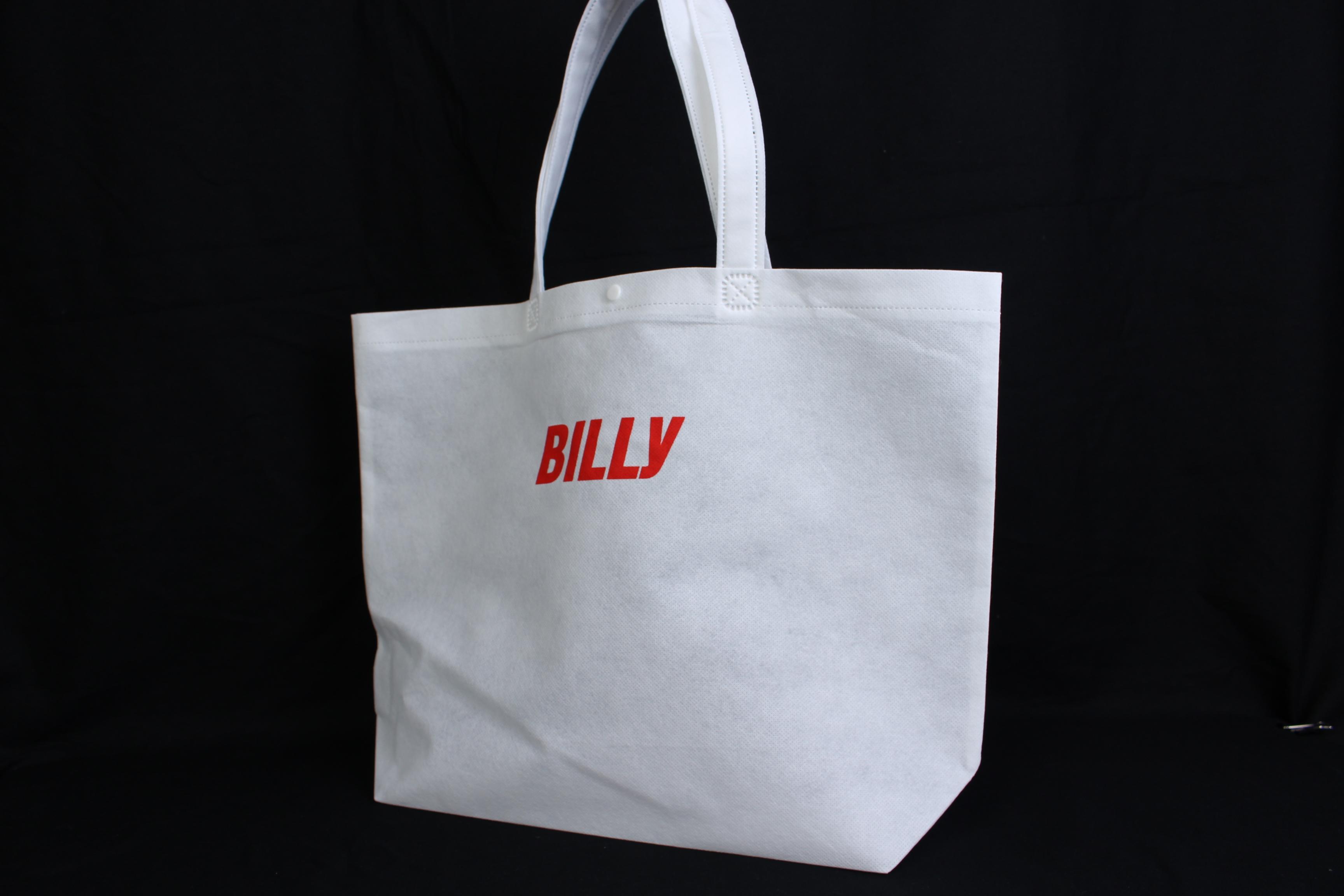 表参道にある美容室様のオリジナル不織布バッグ