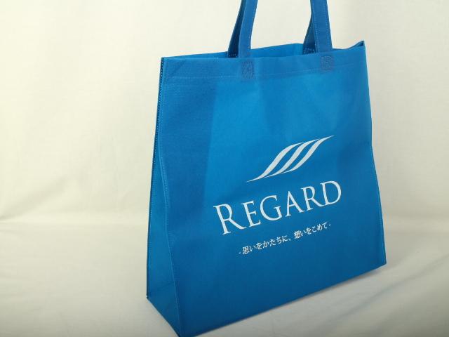 注文住宅設計デザイン企業様の展示会用オリジナル不織布バッグ