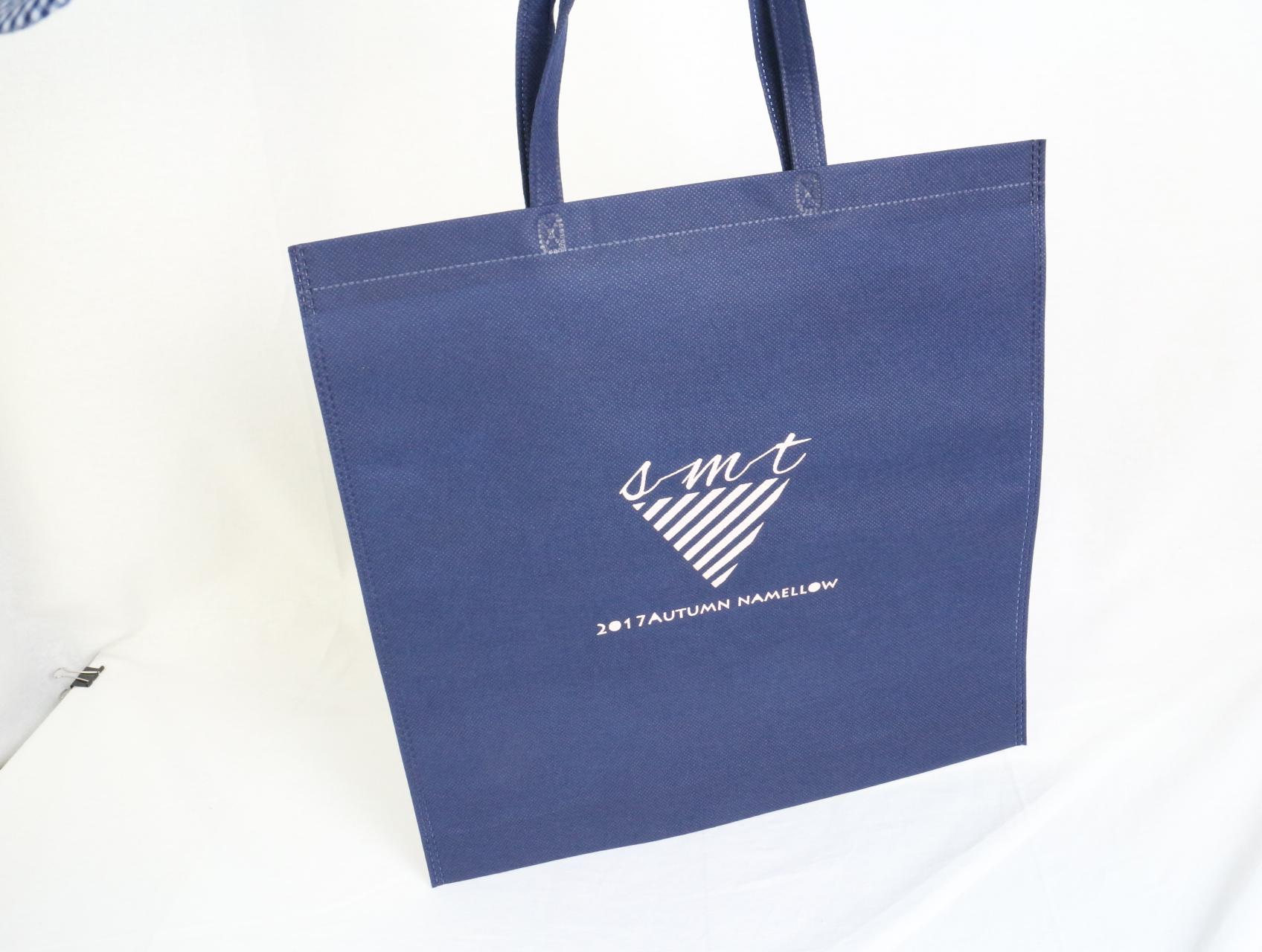 小ロットから製作可能!オリジナル不織布バッグ