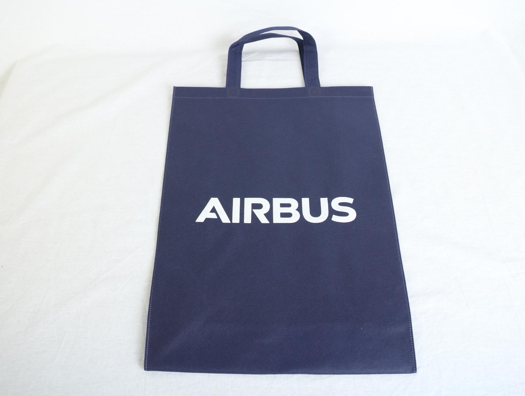 2回目の製作!世界No.1のヘリコプターメーカーである企業様がご利用になられる会社用不織布袋