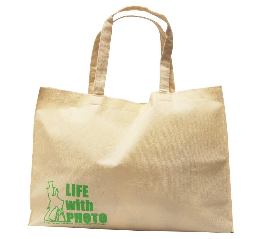 「谷田フォト様」のおしゃれな不織布バッグ