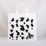 牛柄の不織布袋