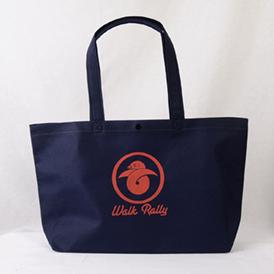 大人っぽい雰囲気の落ち着いた不織布バッグ