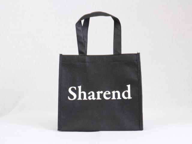 シンプルにロゴを中央に印刷したオリジナル不織布バッグ