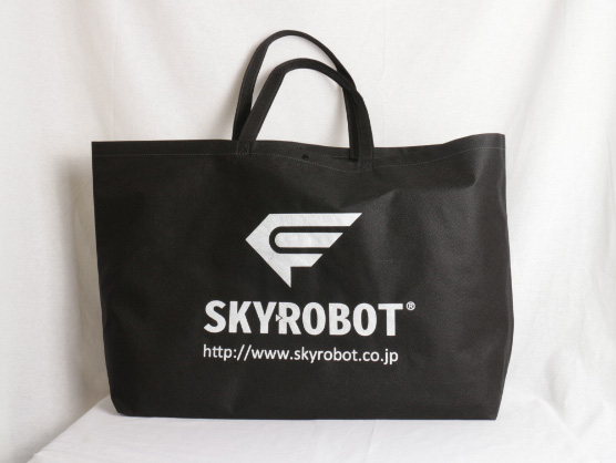 展示会で配る大容量サイズの不織布バッグ
