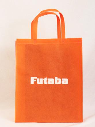 電子部品などを取り扱われている企業様の展示会用不織布バッグ