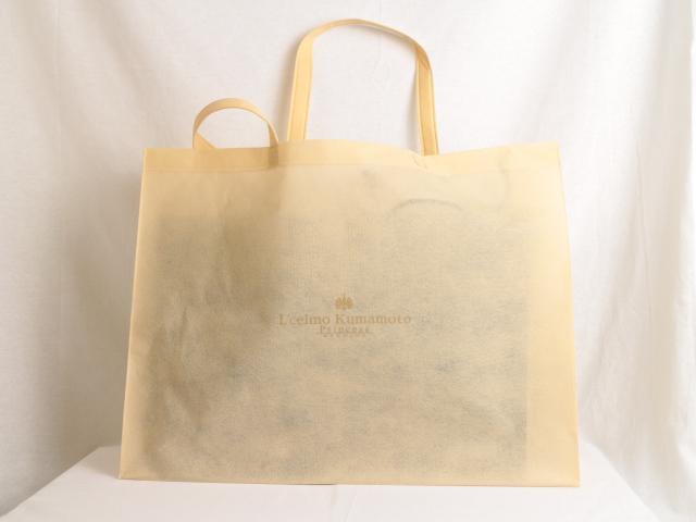 結婚式場のオリジナル不織布バッグ