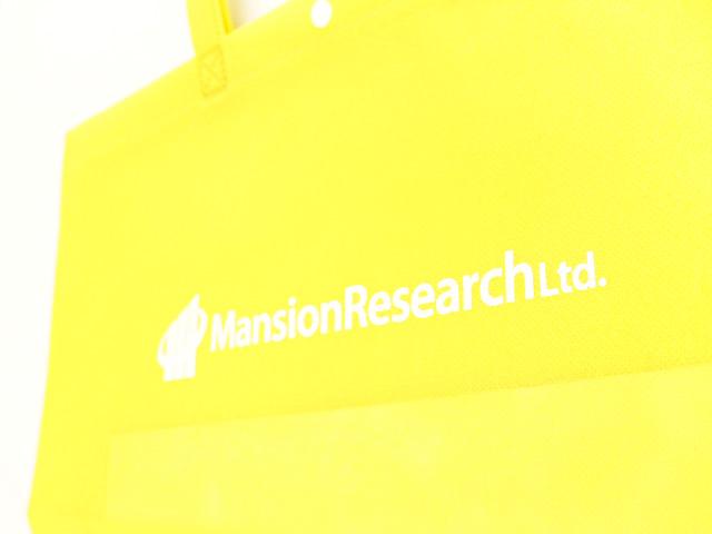 不動産のマッチングを支援している企業様のオリジナル不織布バッグ