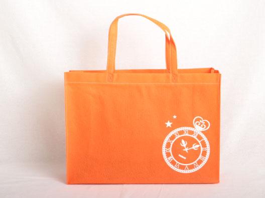 イベント配布用で書籍を入れるための不織布バッグ
