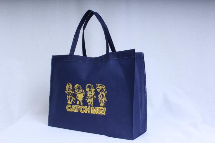 同人誌即売会で配布用の不織布バッグ