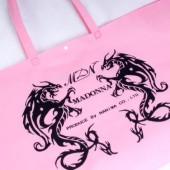 ドラゴンがプリントされた不織布バッグ
