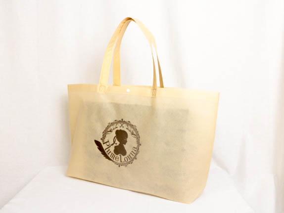 衣類を入れるショッパー用不織布バッグ