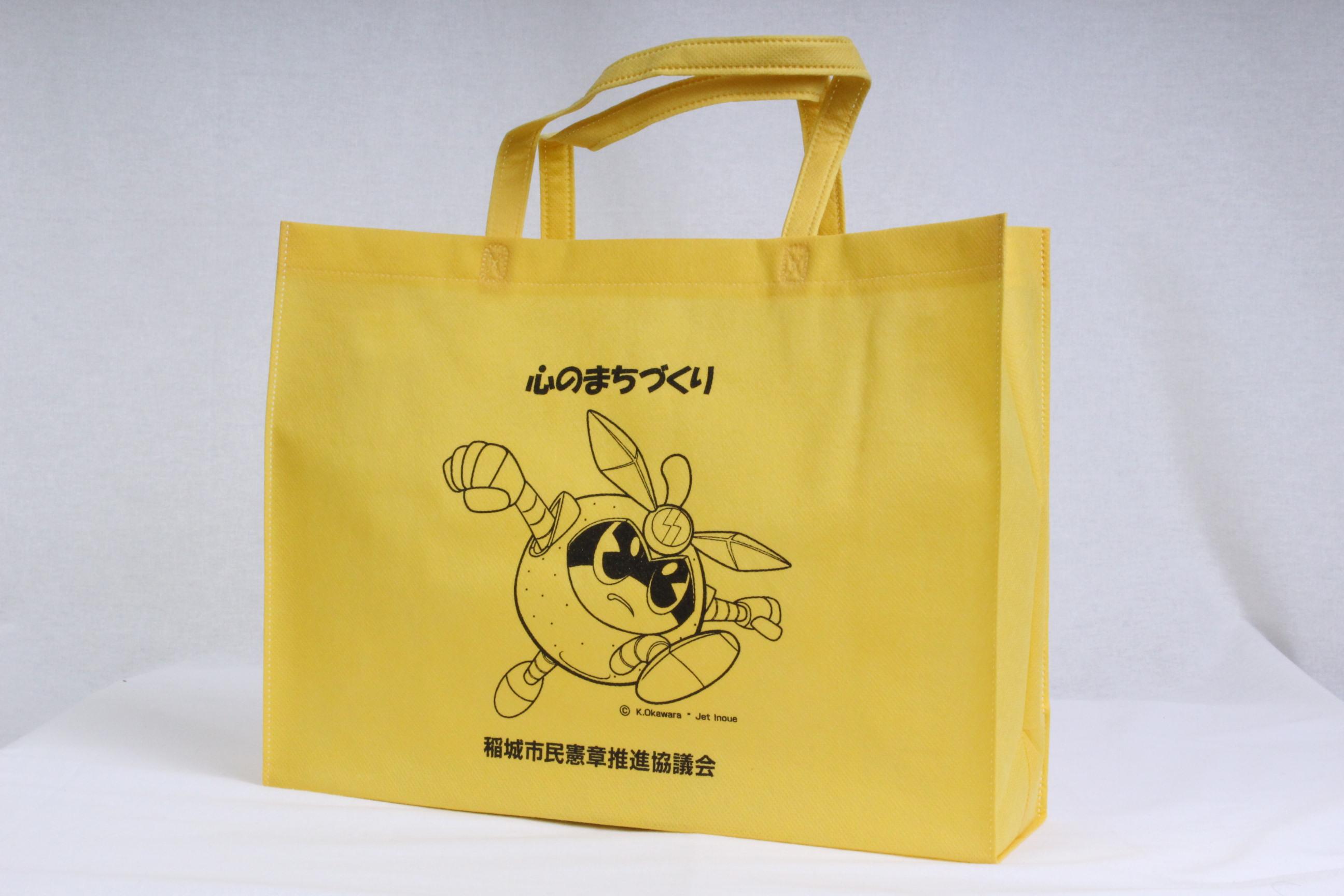 東京都の市民協働課様オリジナル不織布バッグ