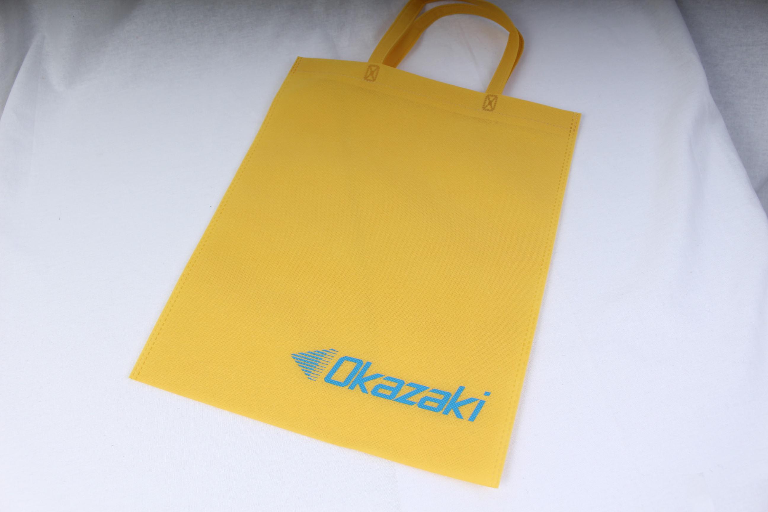 切削、研削工具を製造販売しているメーカー様のオリジナル不織布バッグ