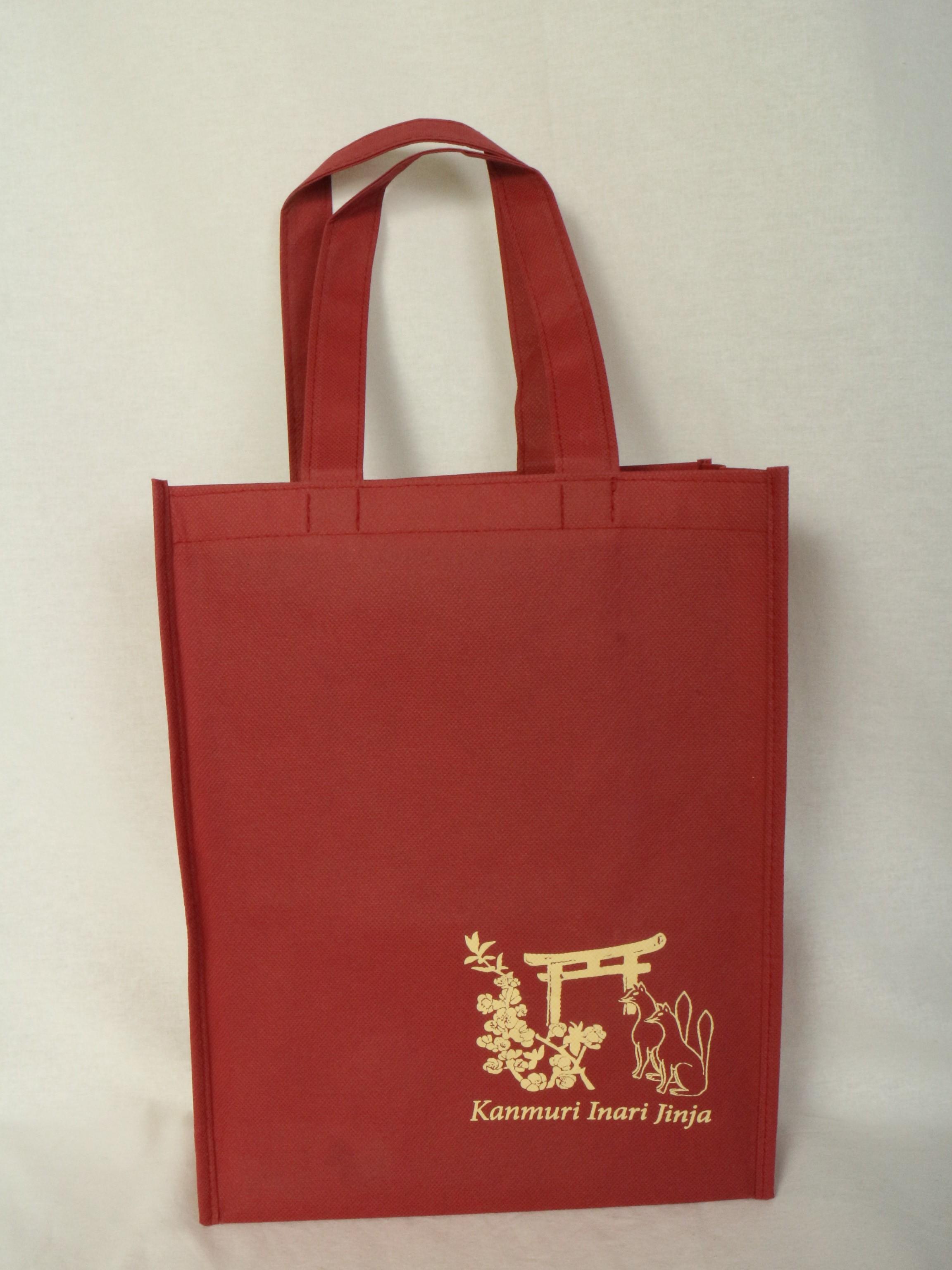 神社様でご使用いただく不織布バッグ