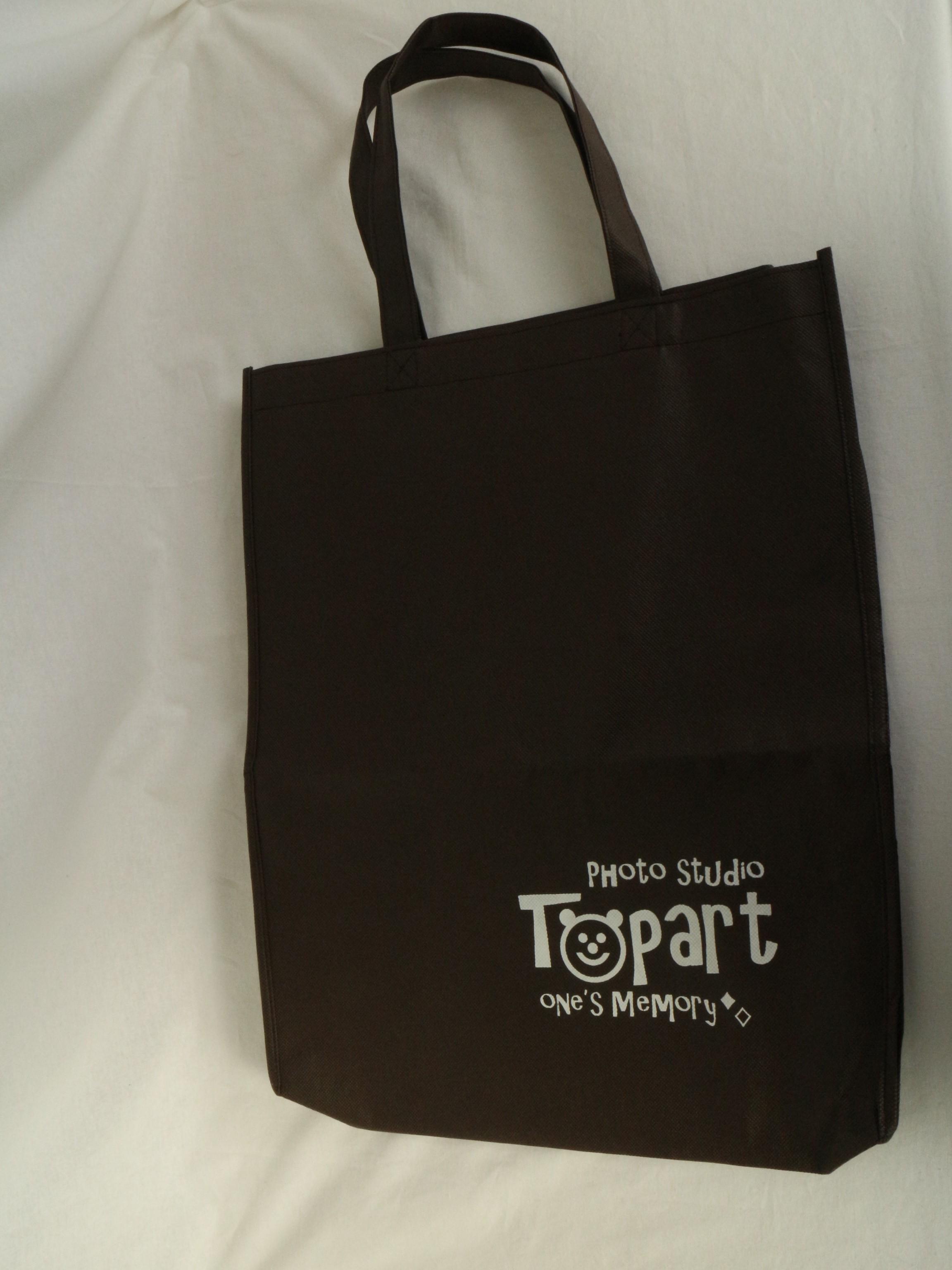 岐阜県のフォトスタジオ様のオリジナル不織布バッグ