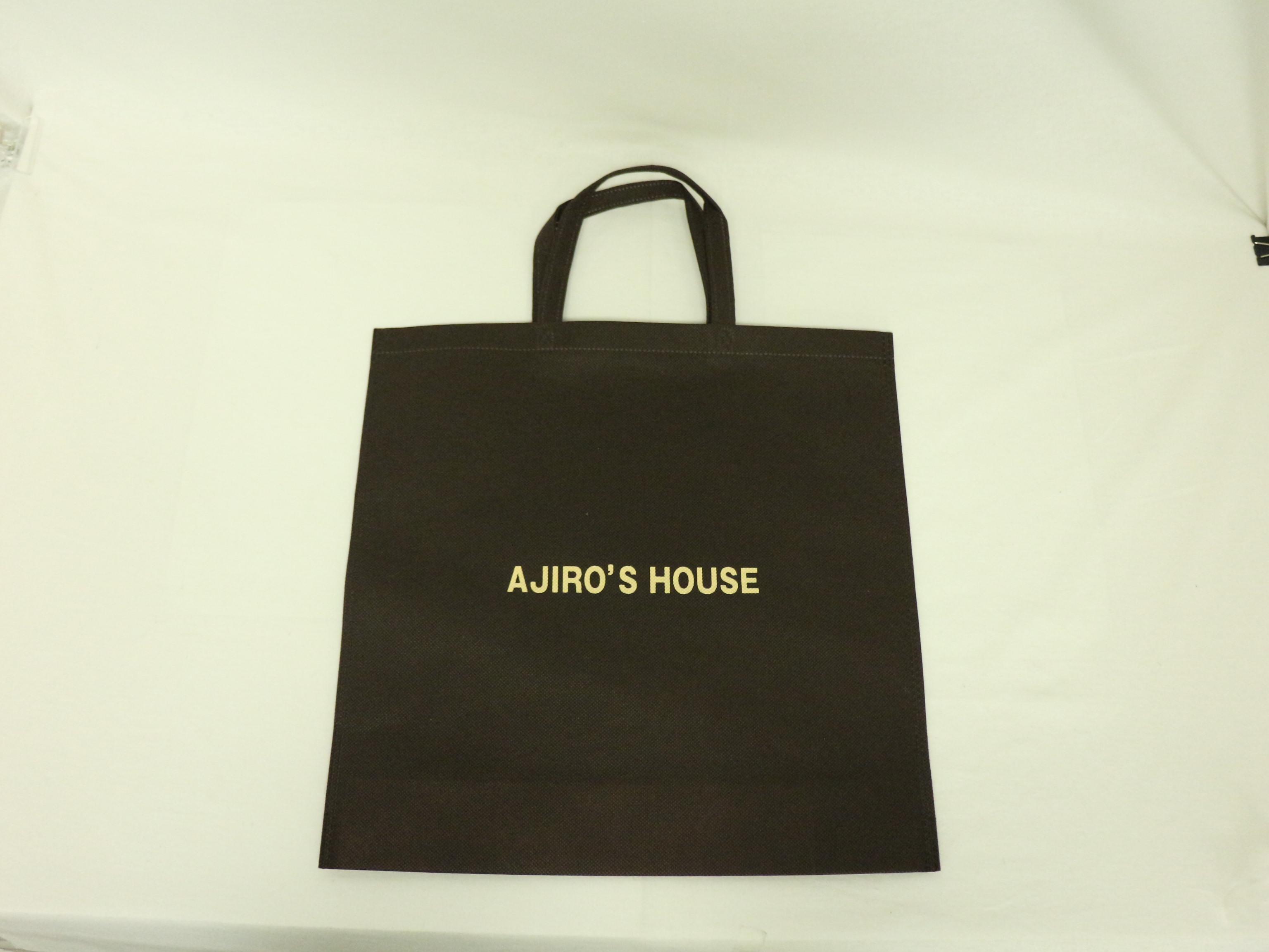 建設関係企業様のオリジナル不織布バッグ