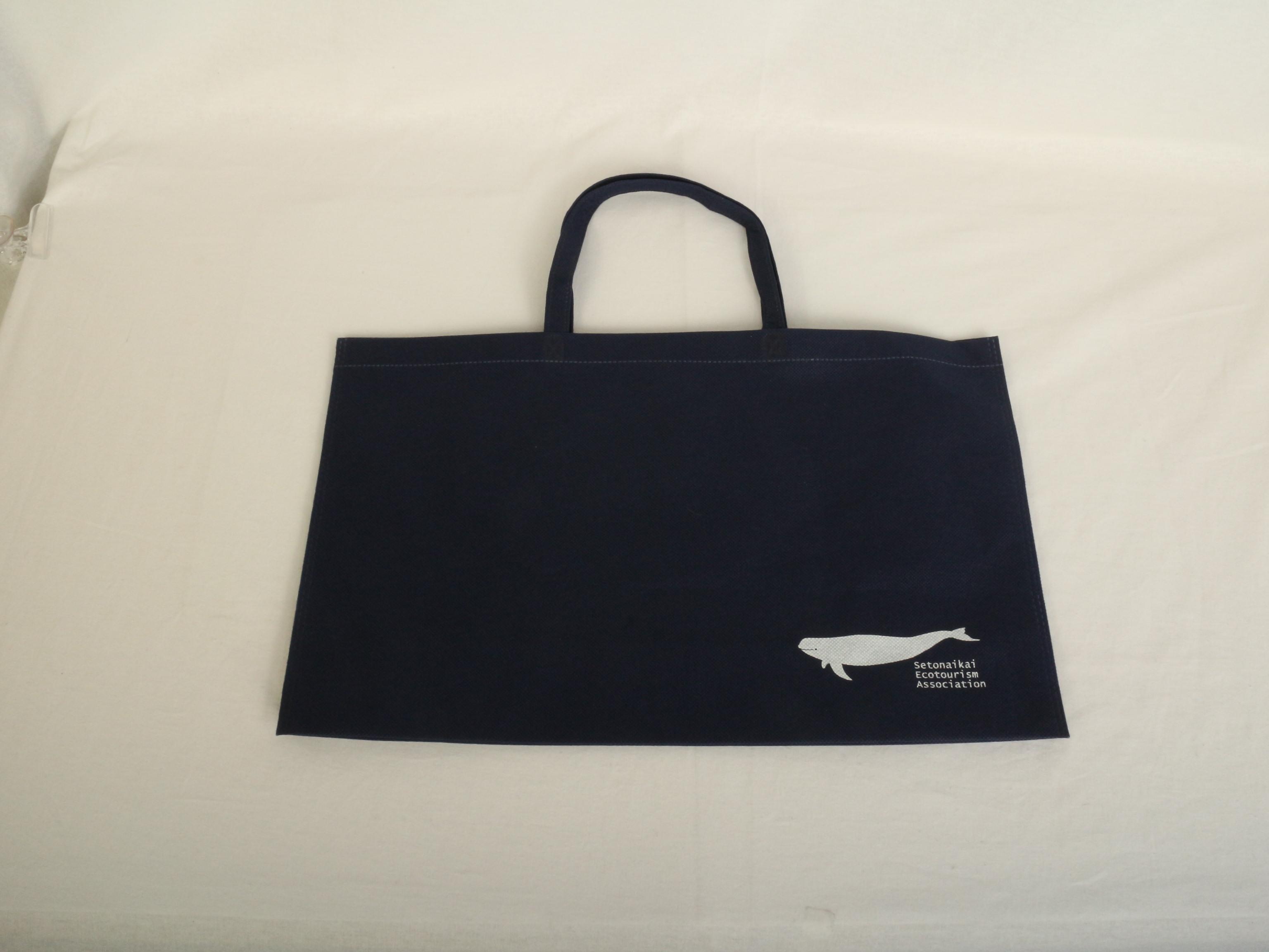 エコツアー企画運営団体様のオリジナル不織布バッグ