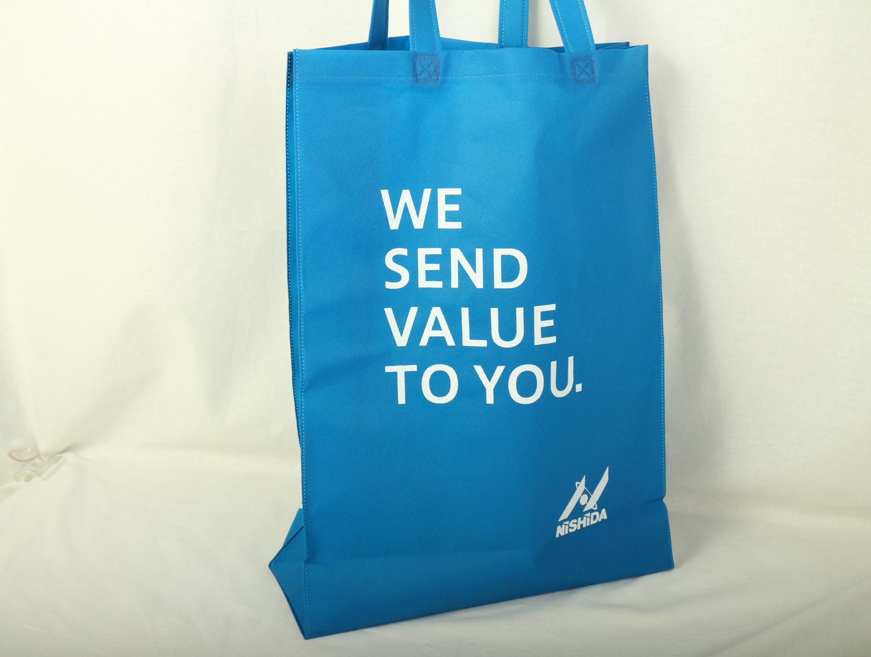 建築材料卸売企業様のオリジナル不織布バッグ