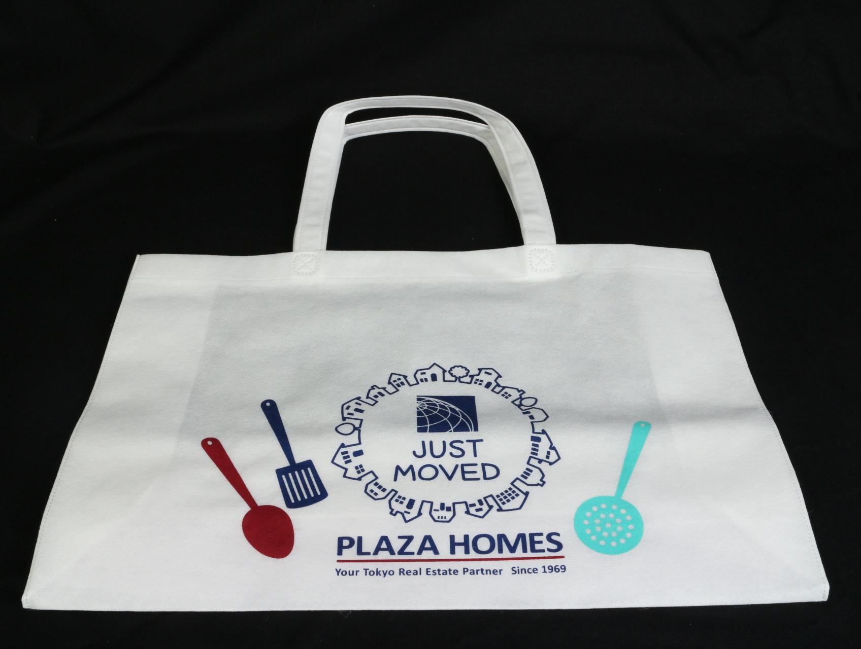 賃貸を中心に物件関する業務を行っておられる企業様のオリジナル不織布バッグ