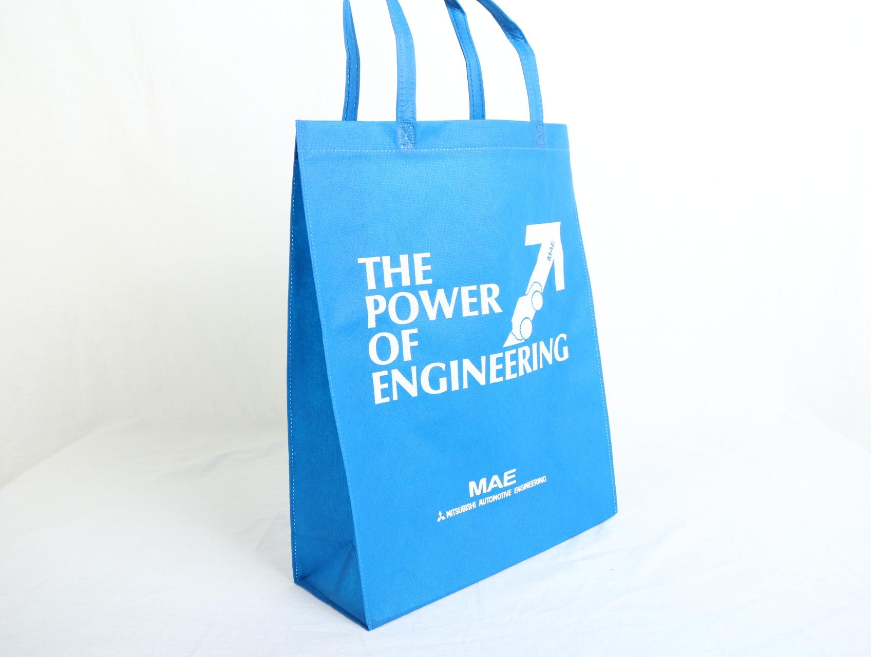 自動車の開発・設計をされている企業様のオリジナル不織布バッグ
