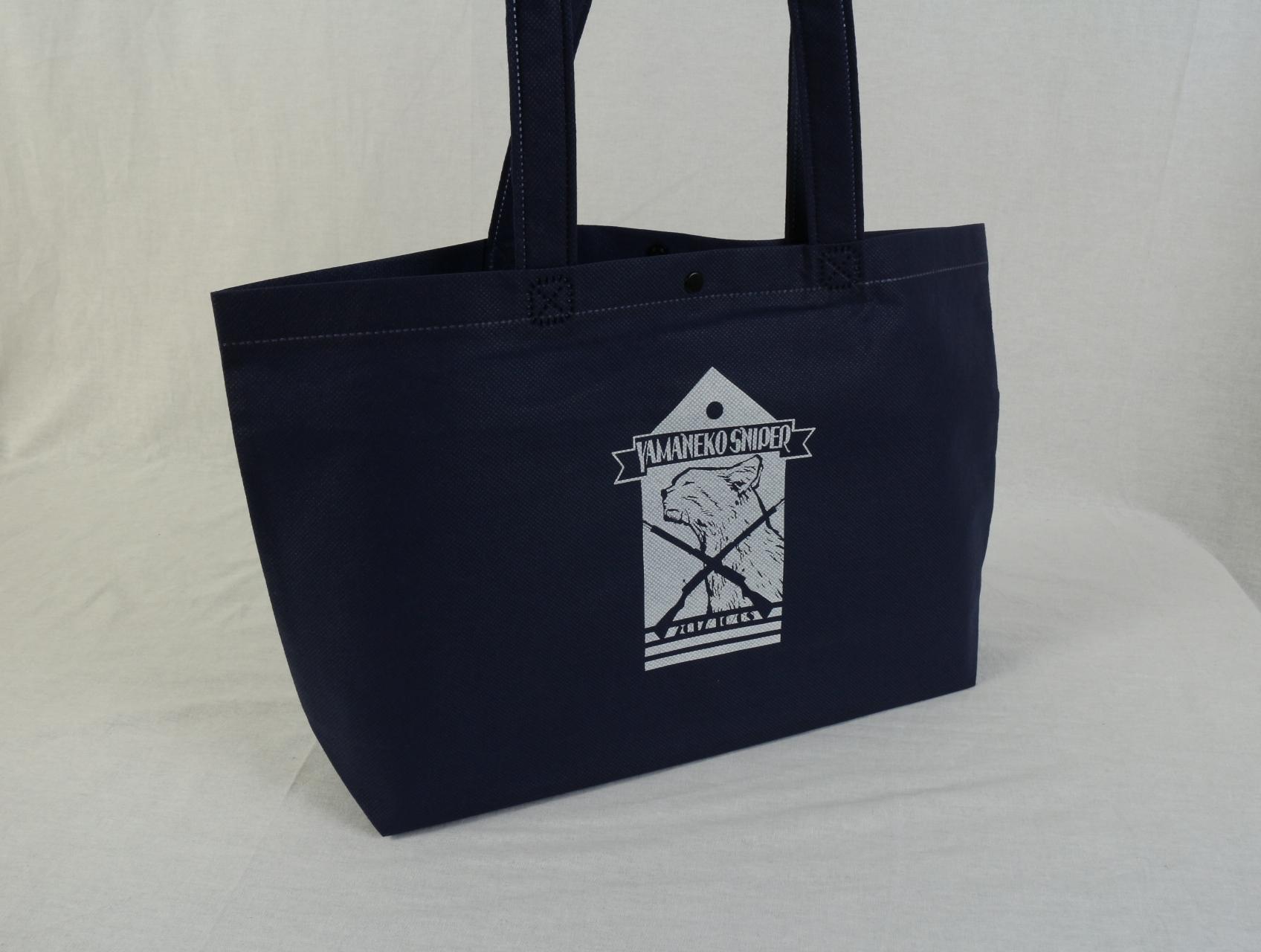 イベントでご利用になられる既製品セミオーダーの不織布バッグ
