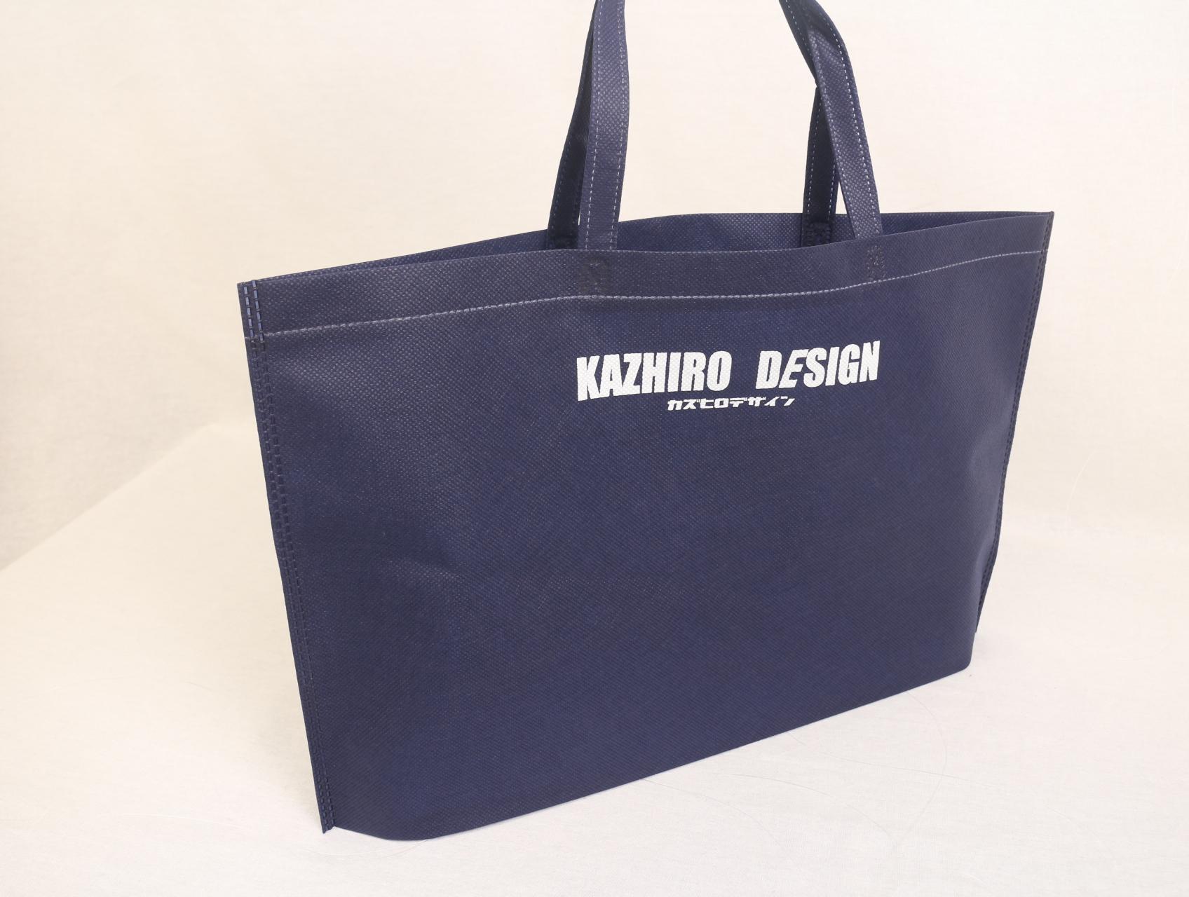 福岡県で建築・空間デザインを行われている会社様の不織布バッグ