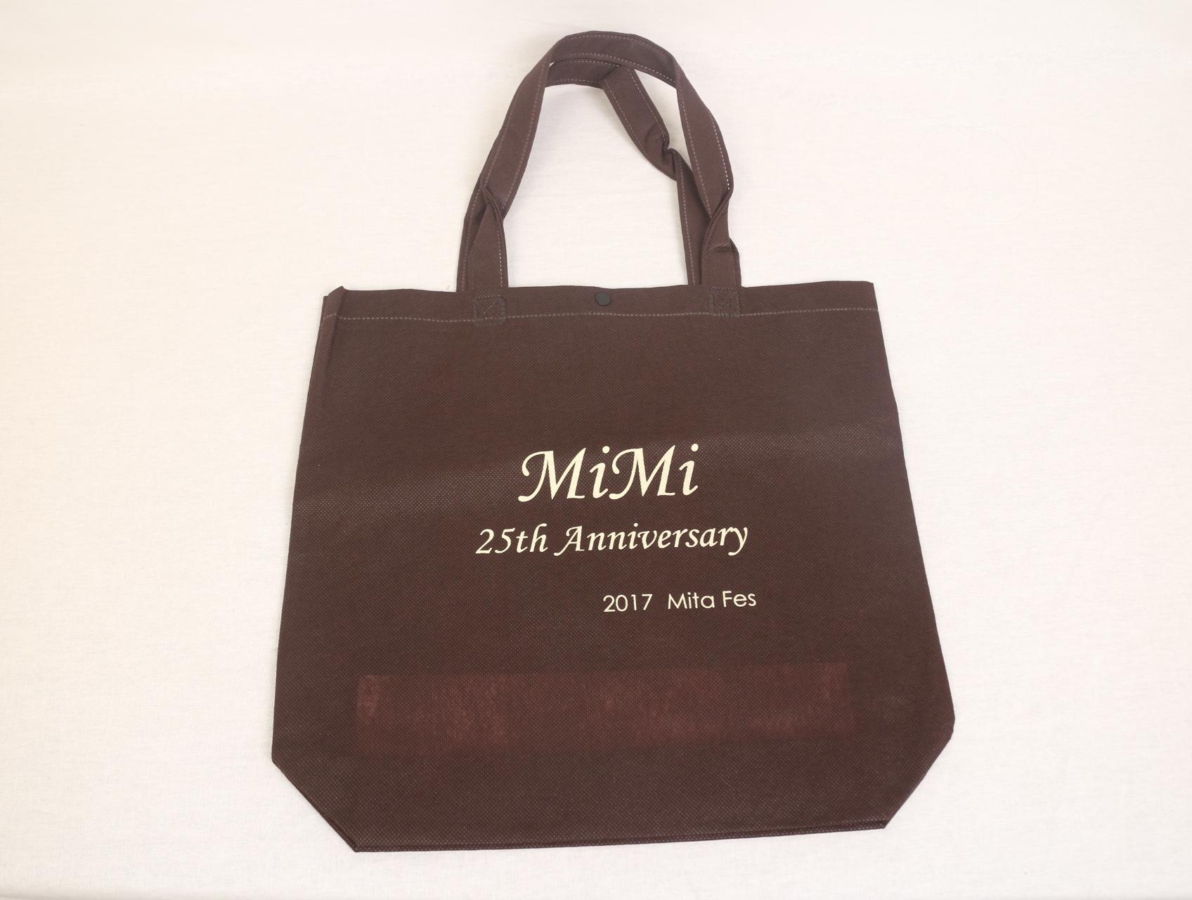 イベントで使用されますオリジナル不織布バッグ