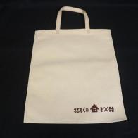 新潟県にあります木材工業様のオリジナル不織布バッグ