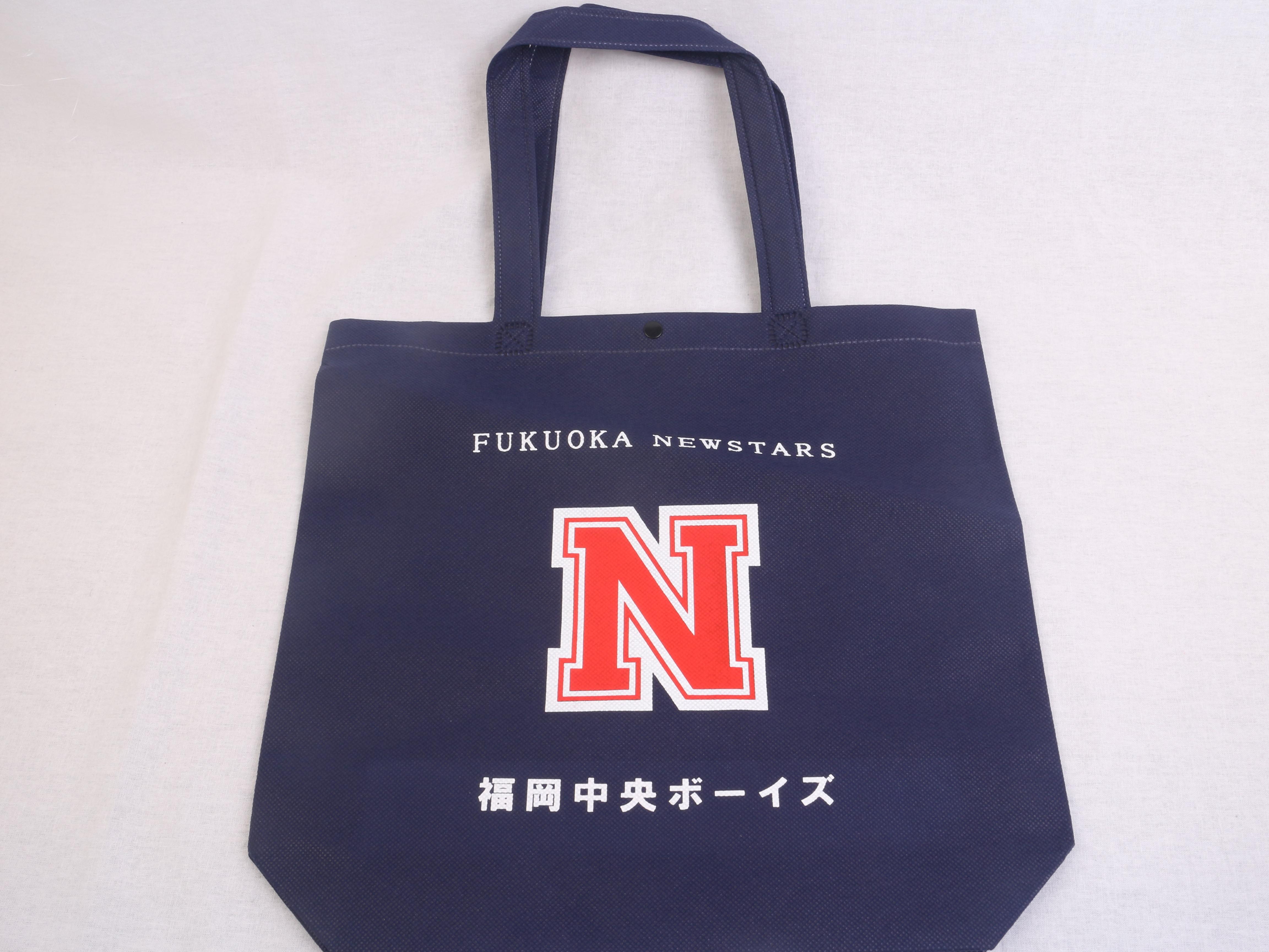 福岡県のスポーツチーム様のオリジナル不織布バッグ